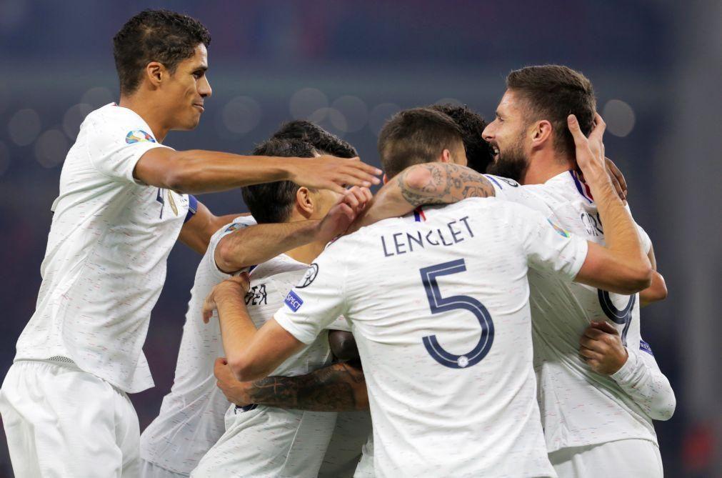 Euro2020: França fecha qualificação com vitória e primeiro lugar