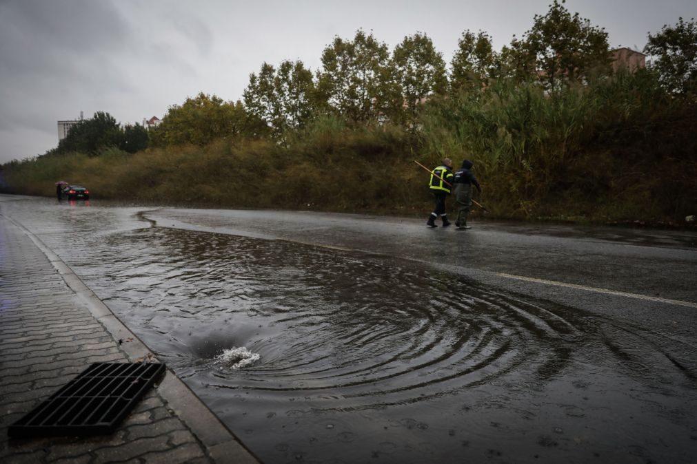 Mais de 60 ocorrências de norte a sul do país devido à chuva