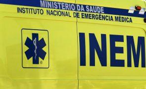 Despiste em Rio Maior faz três vítimas, incluindo duas crianças