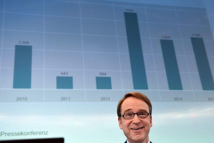 Presidente do Bundesbank deixa avisos sobre resgate bancário em Itália
