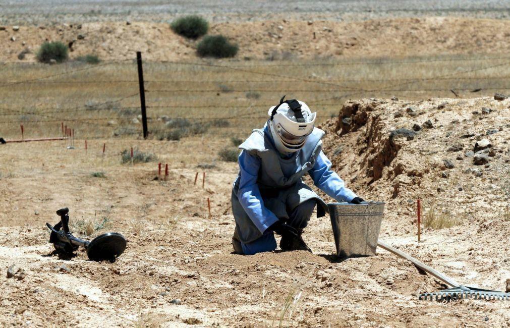 Morreu cidadão alemão devido a explosão de mina antipessoal em Myanmar