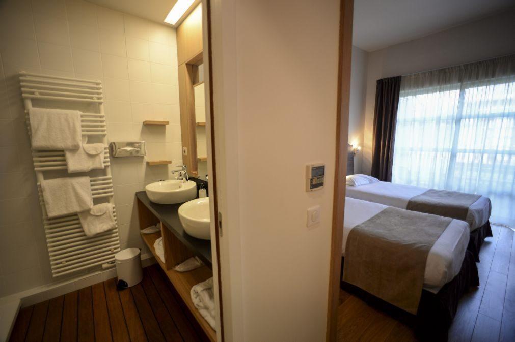 Subida das dormidas na hotelaria abranda para cerca de 8%