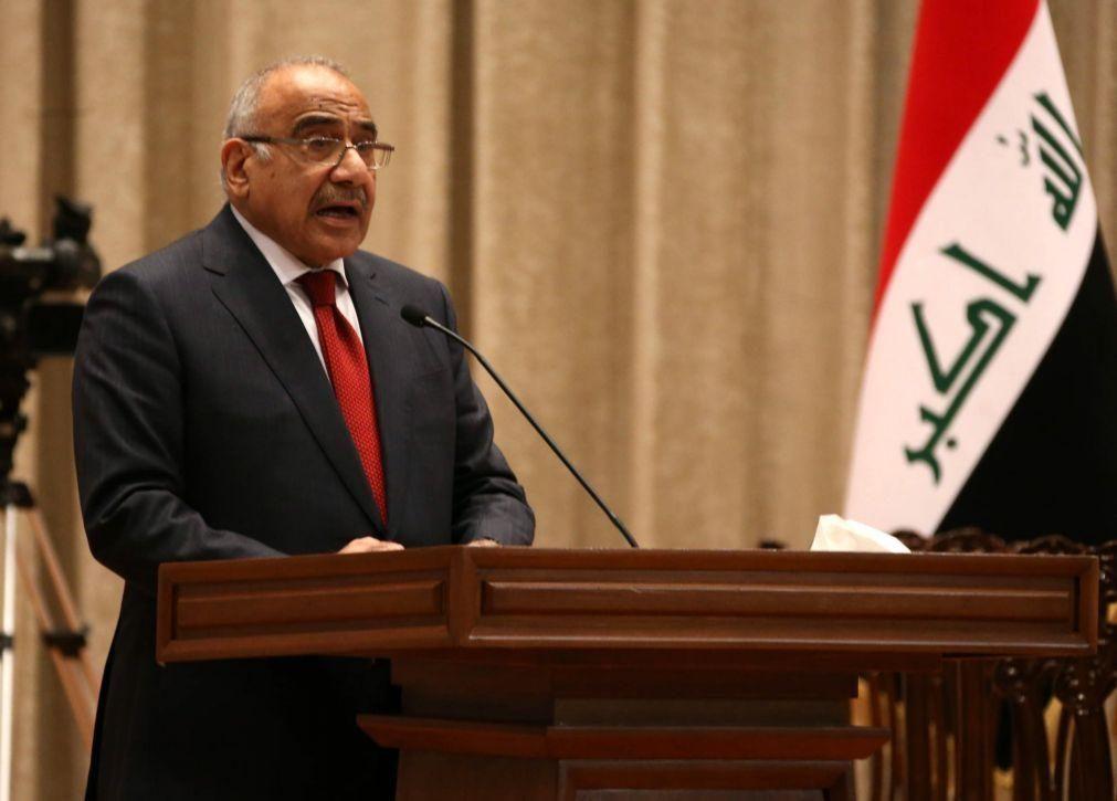 Primeiro-ministro iraquiano vai apresentar a demissão ao parlamento