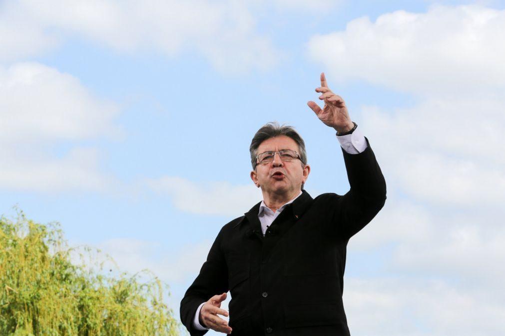 Porta-voz de Mélenchon recusa cenário português na esquerda francesa nas eleições em França