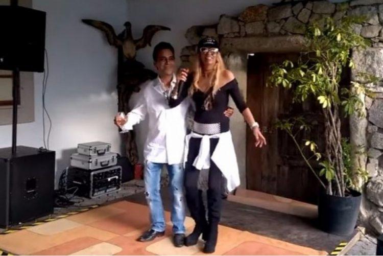 Maria leal e Zé Cabra fazem finalmente um dueto