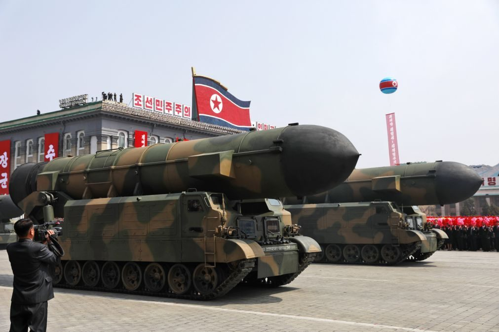 Televisão da Coreia do Norte emite ataque simulado aos Estados Unidos