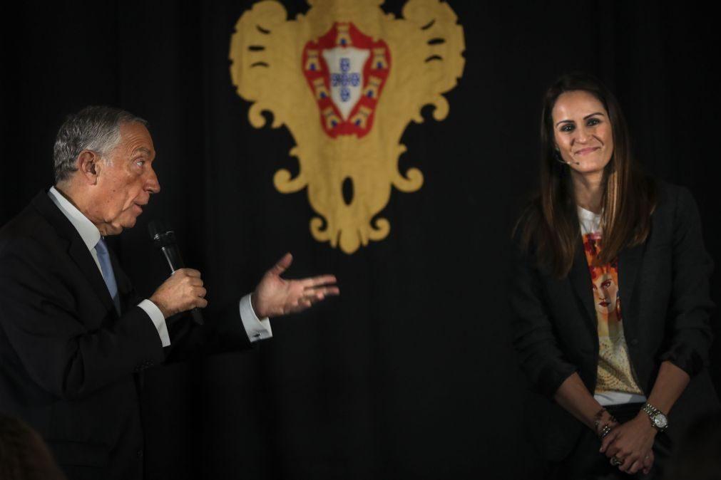 Ticha Penicheiro distinguida como Comendadora da Ordem do Infante D. Henrique