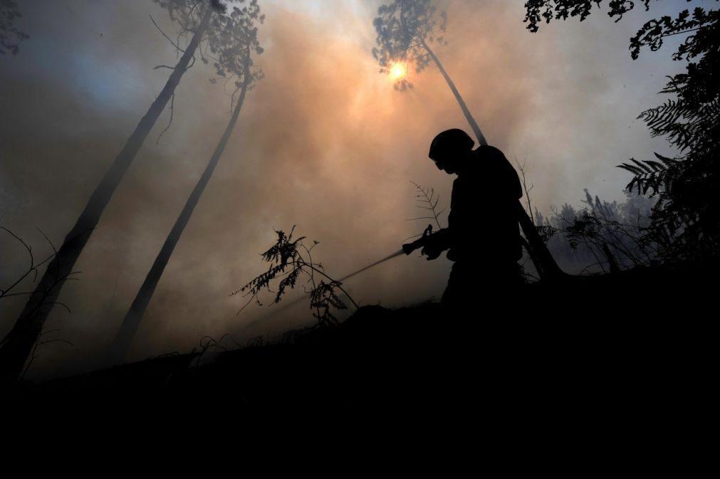Incêndios: Acionado meio aéreo para combate a fogo no parque Peneda Gerês