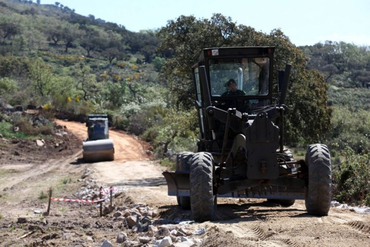 Engenharia do Exército vai limpar 45 quilómetros de linhas de água em Cantanhede