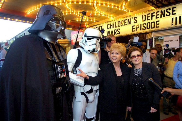 Morreu Carrie Fisher, a princesa Leia de Star Wars