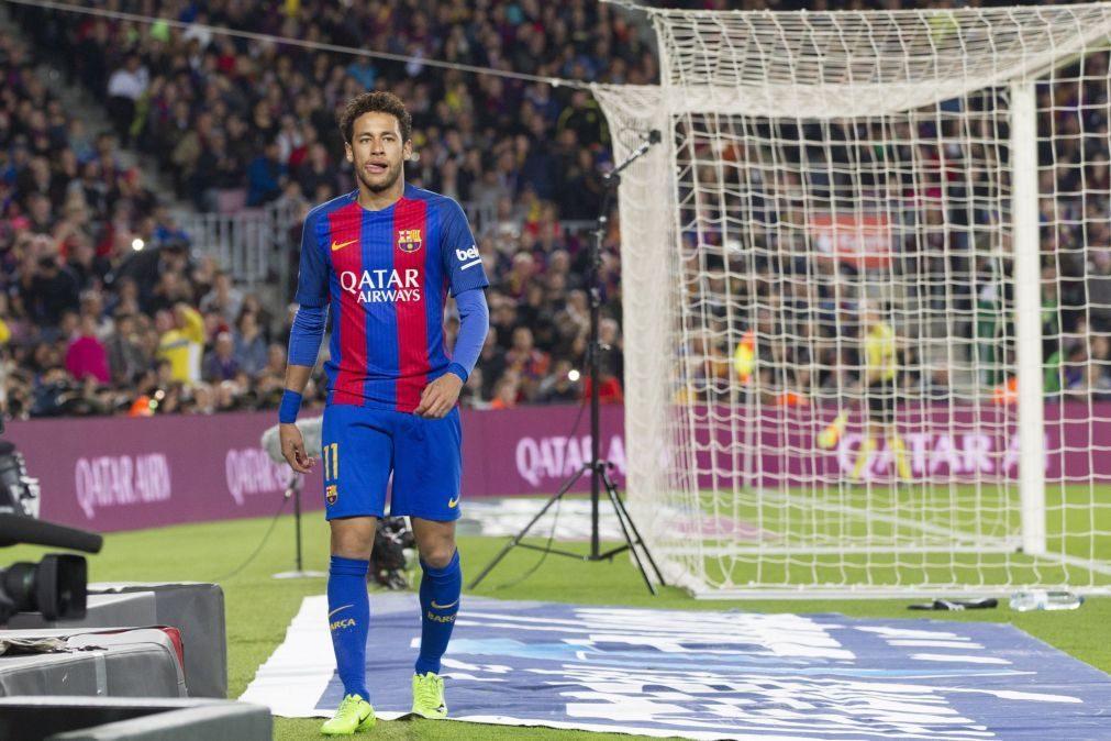 FC Barcelona recorre da suspensão de três jogo aplicada a Neymar