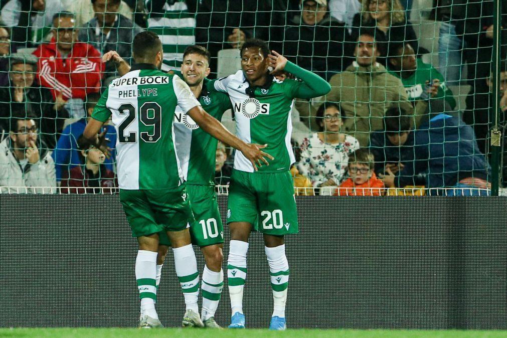 Sporting 'vira' em Portimão e apura-se para 'final four' da Taça da Liga [vídeo]