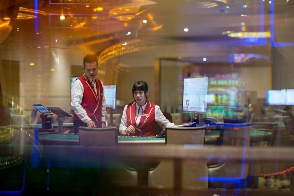 Macau proíbe a partir de hoje entrada nos casinos a funcionários fora do horário laboral