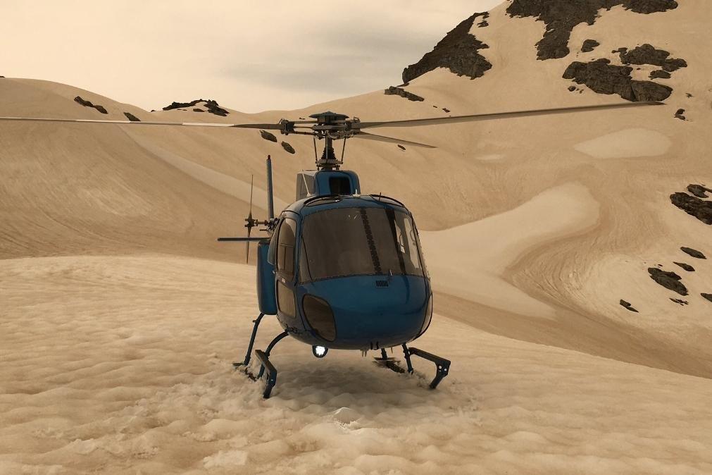 Glaciares da Nova Zelândia estão a ficar castanhos