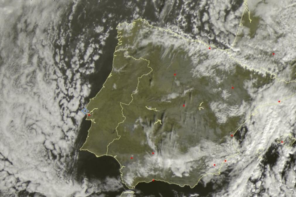 Meteorologia: O tempo para esta segunda-feira, 13 de janeiro