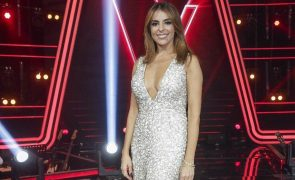 The Voice | Catarina Furtado arrasa na final com decote generoso