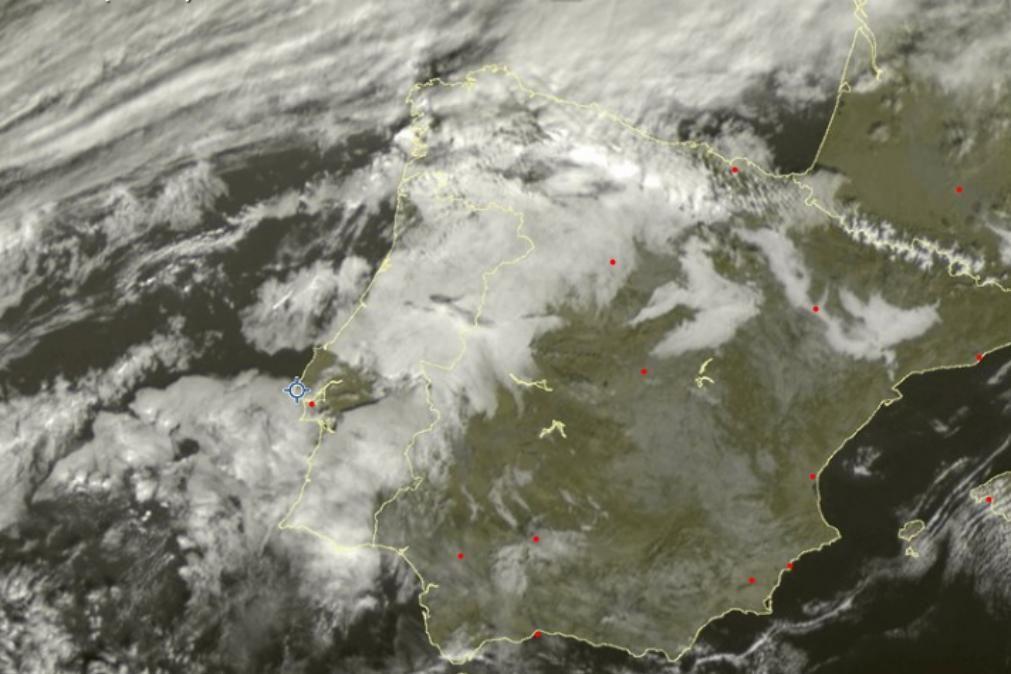 Meteorologia: O tempo para esta quarta-feira, 15 de janeiro