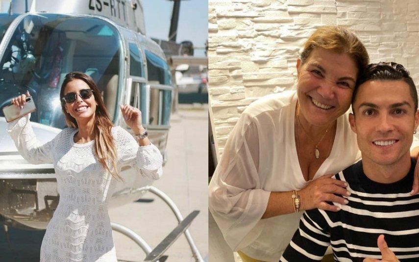 Carolina Patrocínio Encantada com Dolores Aveiro, mas sem nunca esquecer a sogra (vídeo)