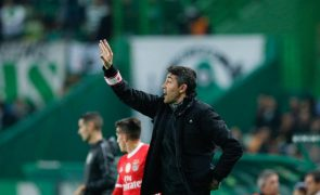 Bruno Lage quer Benfica