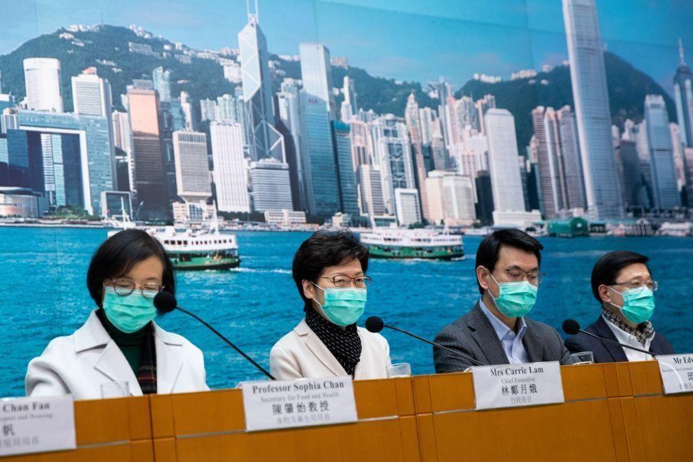 Vírus: Hong Kong corta ligação por comboio à China continental