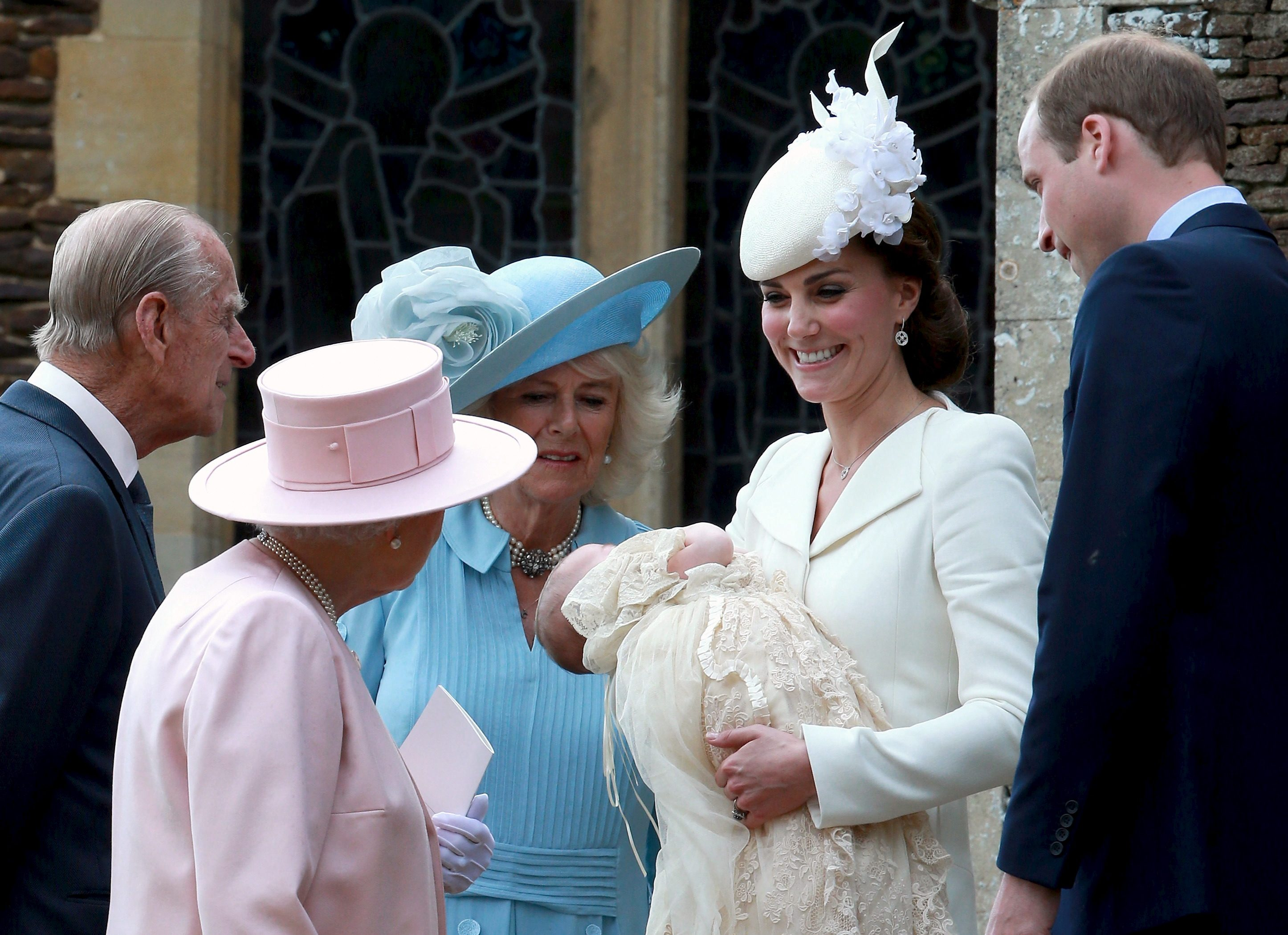 Camilla, Kate, William