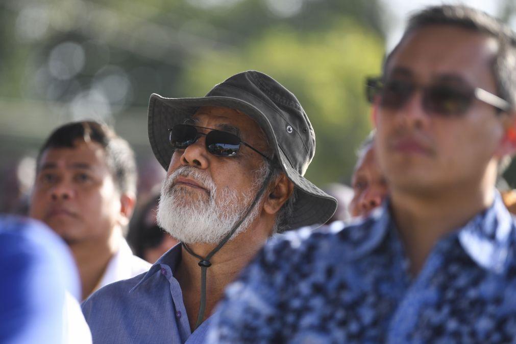 Xanana diz que eleições antecipadas são solução justa para crise timorense