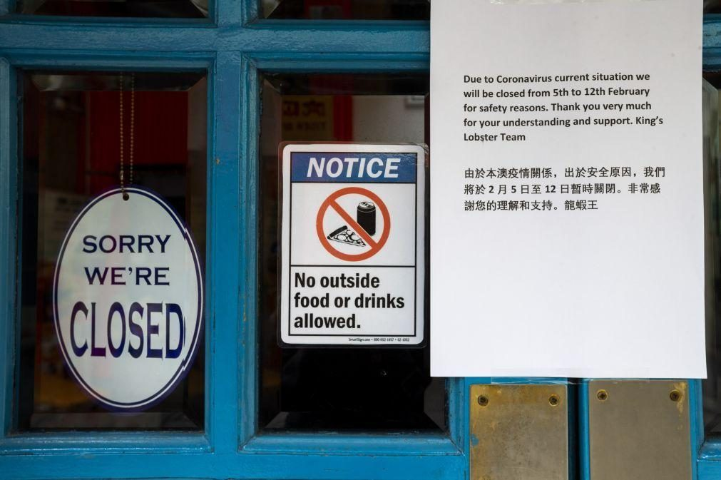 Covid-19: Macau sem novos casos de infeção há 11 dias
