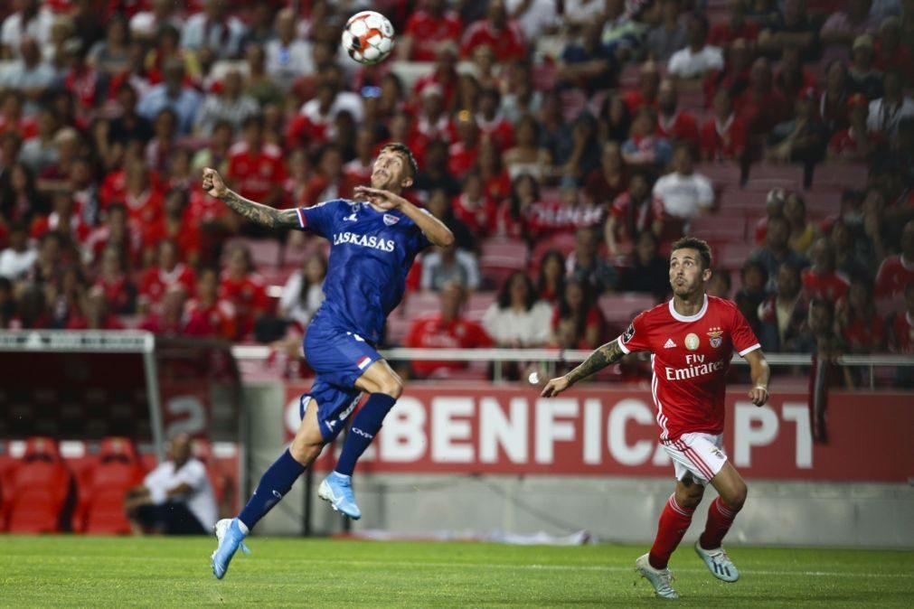 Gil Vicente anuncia lotação esgotada para receção ao Benfica
