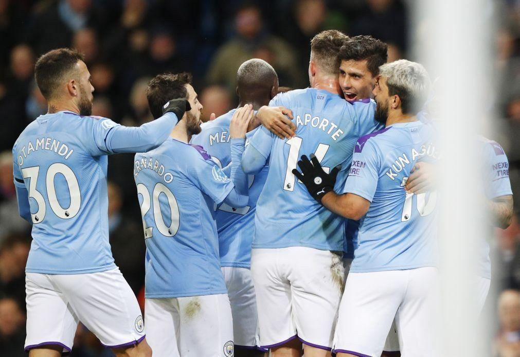 Manchester City vence West Ham e está a 22 pontos do líder Liverpool