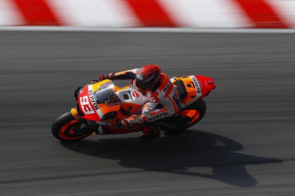 Campeão de MotoGP Marc Márquez renova contrato com a Honda até 2024