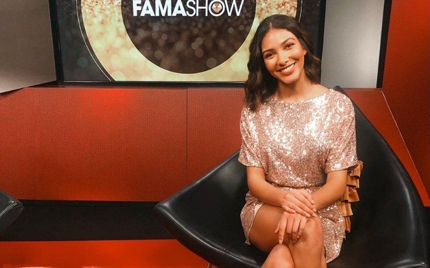 Nova apresentadora do Fama Show causa polémica