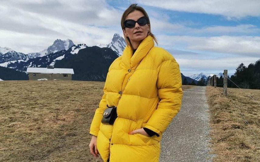 Os looks extravagantes de Cristina Ferreira nas férias na Suíça