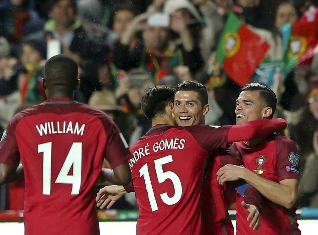 Portugal mantém oitavo lugar no 'ranking' da FIFA