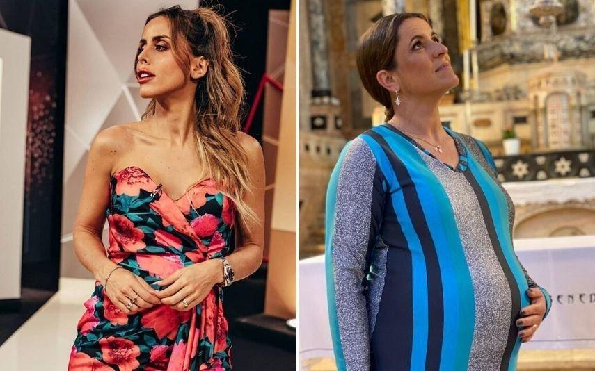 Carolina Patrocínio e Sofia Fernandes Grávidas e com receio do coronavírus, deixam o trabalho resguardam-se em casa