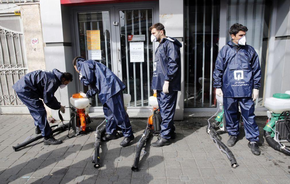 Covid-19: Aumenta para 853 o balanço de vítimas mortais da pandemia no Irão
