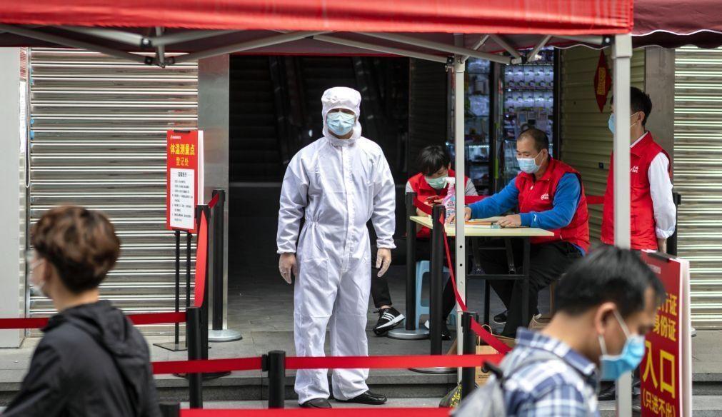 Covid-19: China regista 21 novos casos numa ligeira subida nas últimas 24 horas