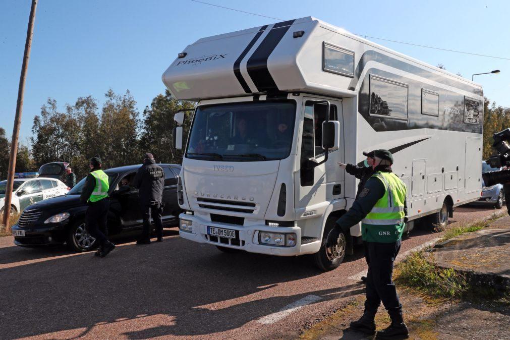 Covid-19: Municípios da zona da Guarda fecham dez fronteiras terrestres com Espanha