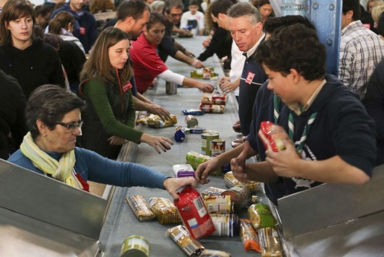 Bancos Alimentares iniciam hoje nova campanha de recolha de alimentos