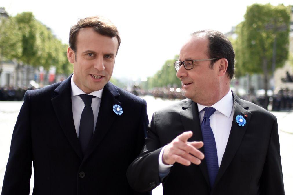 Emmanuel Macron toma posse no domingo
