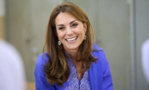 Kate Middleton Fotografia inédita da duquesa de Cambridge em bebé