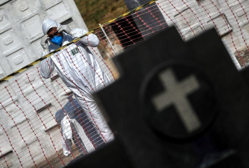 Covid-19: Quarenta mortos e 1.119 infetados nas últimas 24 horas no Brasil