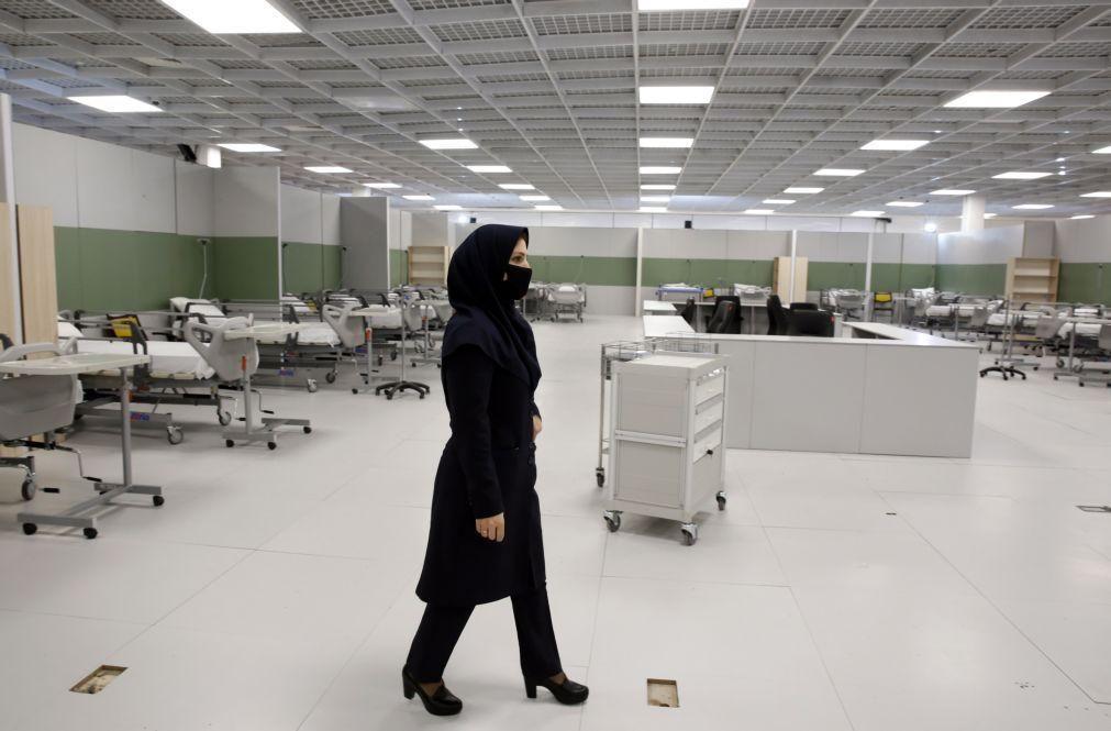 Covid-19: Irão regista mais de 50 mil contagiados e 3.160 mortes