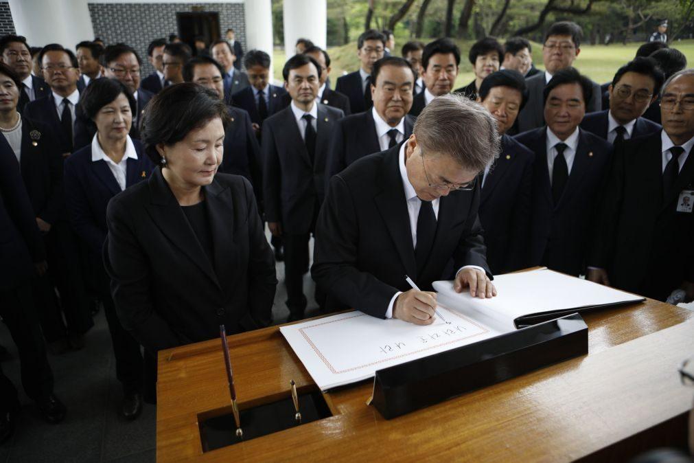 Novo Presidente da Coreia do Sul pondera visitar Pyongyang