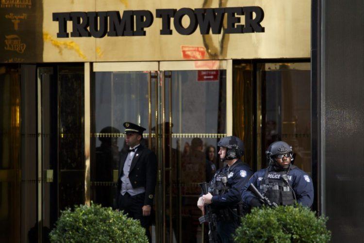Município de Nova Iorque não quer que cidade pague segurança de Trump