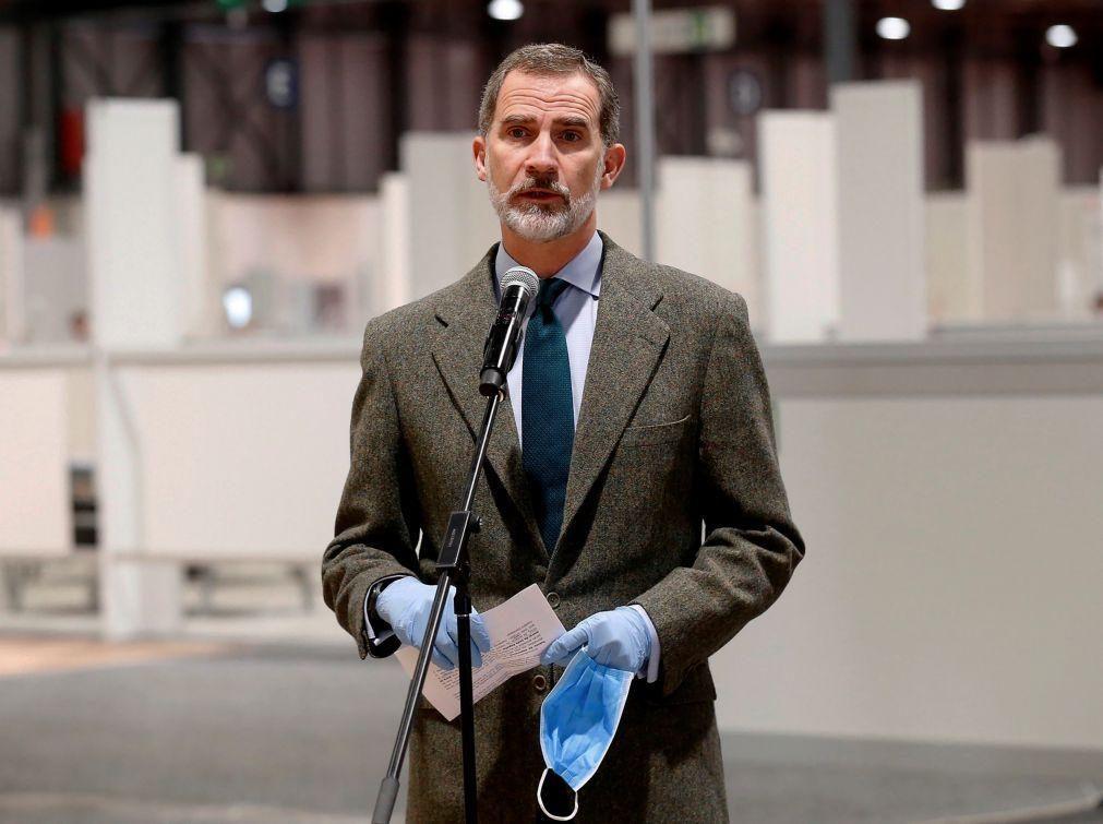 Covid-19: Rei de Espanha transmitiu a Marcelo reconhecimento pela posição de António Costa