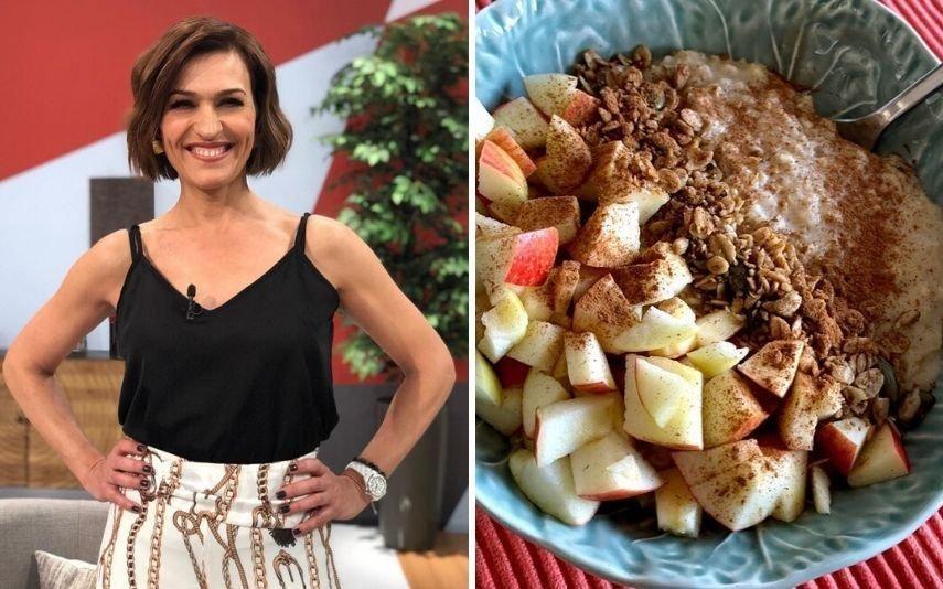 Fátima Lopes A receita deliciosa de papas de aveia que só leva 5 ingredientes