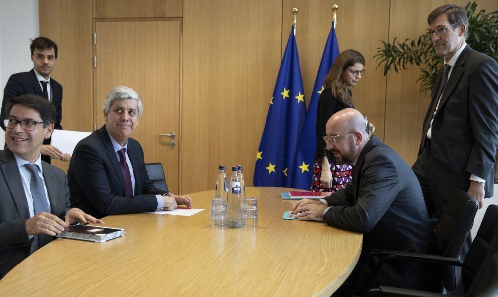 Covid-19: Discussões no Eurogrupo em modo pausa e sem fim à vista