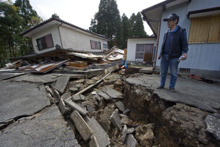 Mais de 6.500 sismos no Japão em 2016, o triplo do ano anterior