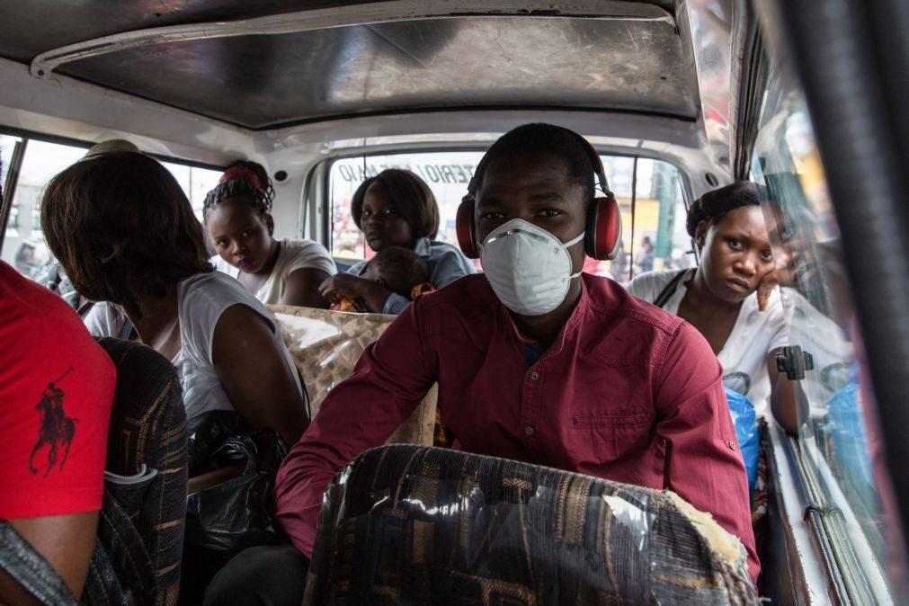 Covid-19: Moçambique obriga ao uso de máscaras nos transportes e aglomerações