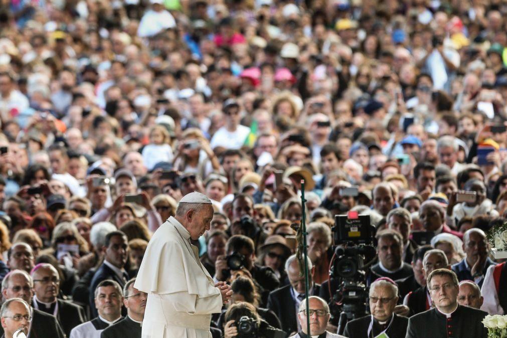 Papa Francisco apelou à paz no Mundo em Fátima